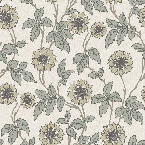 2948-28020 Brewster Wallcoverings A Street Prints Leilani Floral Wallpaper White