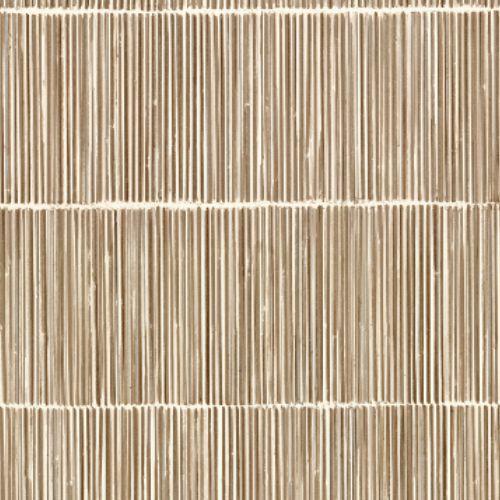 391513 Brewster Wallcoverings Eijffinger Terra Aspen Natural Stripe Wallpaper Neutral