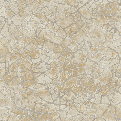 MW30205 Seabrook Wallcoveirngs Metalworks Starkweather Stone Wallpaper Beige