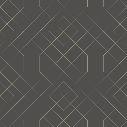 2964-25912 Brewster Wallcovering A Street Prints Scott Living Ballard Geometric Wallpaper Grey