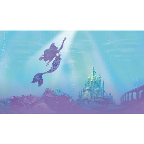 RMK11413M York Wallcoverings Disney Kids 4 Disney The Little Mermaid Under The Sea Peel and Stick Mural