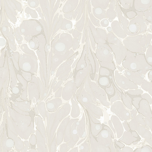 NV5588 York Wallcoverings Modern Heritage 125th Anniversary Edition Marbled Endpaper Wallpaper Cream