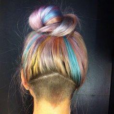 Rainbow undercut