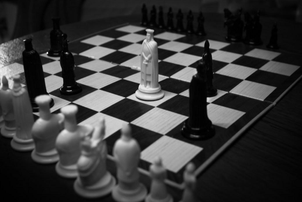 Le jeu d'échecs compagnie Aboudbras
