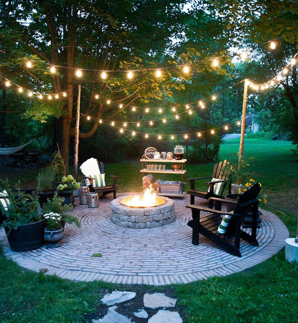Light Up Your Outdoor Space with Style - Lelis Brick & Tile on Backyard String Light Designs id=47380