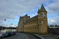 The Old College building, Aberystwyth