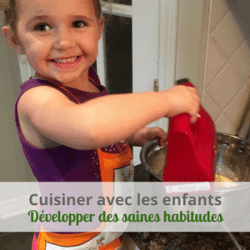 Cuisiner avec les enfants en s'inspirant de Montessori