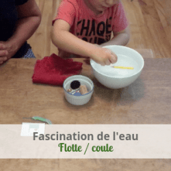 LeLoLife - Fascination de l'eau - Flotte ou coule