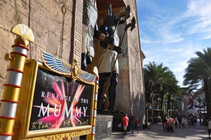 Ancient Egypt Universal Studios Singapore
