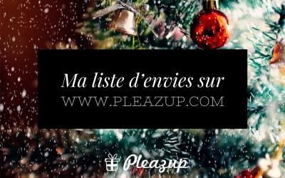 Wishlist personnelle de Noël avec Pleazup