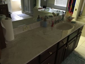 """Finally have places for all my stuff other than my usual """"everything on the counter"""" :)"""