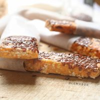 Sweet potato and peanut butter protein bars