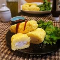 Potato wrapped cod