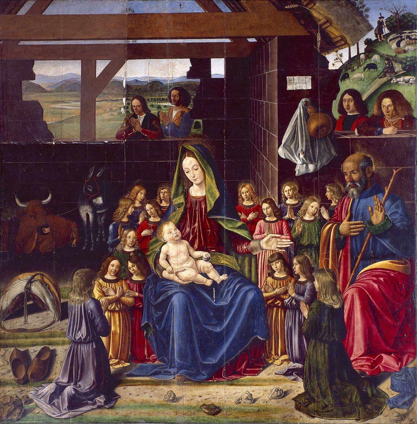 La Nativité, Bendetto Bigordi, XVème siècle