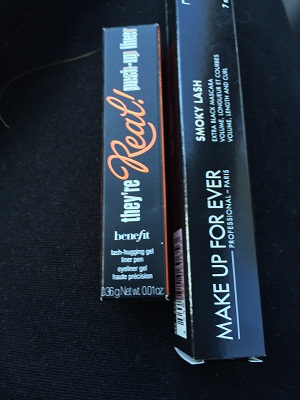 make up for ever; benefit