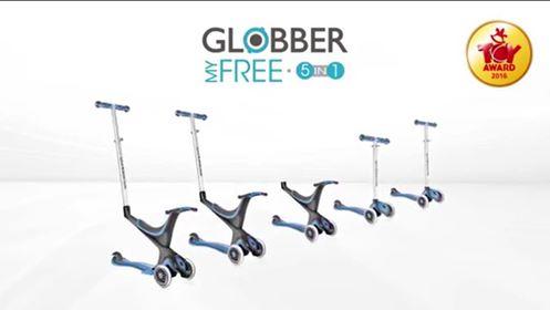 Trottinette Globber Free 5 en 1