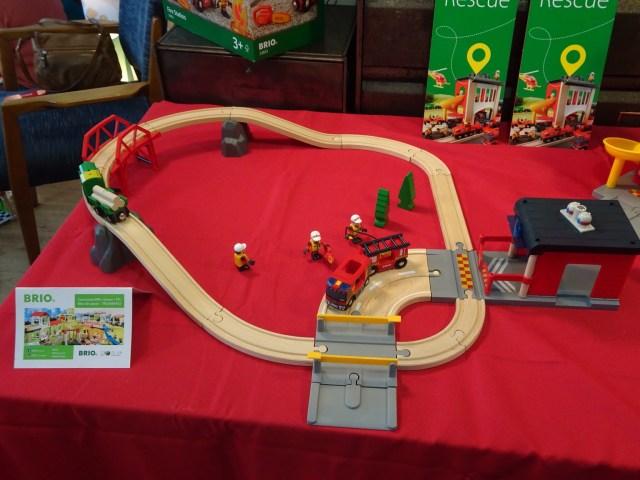 Le Grand Circuit de Pompiers BRIO - Prix : environ 92 €