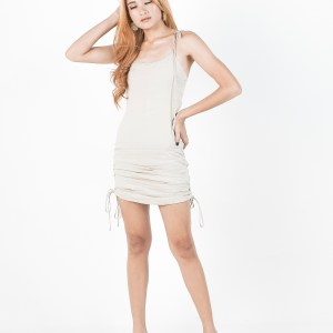 Luna dress in Beige