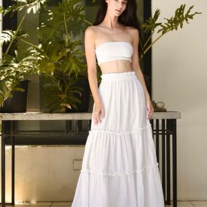 Mincy top and Mandy Maxi skirt