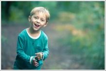 Adrien in the woods
