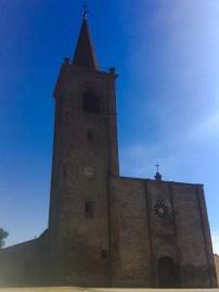 Church in top Piazza in Castigno