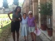 New friends...American, Italian & English