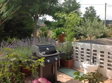 BBQing on my terrace