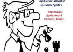 Tournoi scolaire des échecs (édition 7) à l'école André Chénier à Rabat
