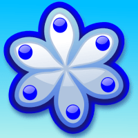 88 of 365 is a spring flower mindful of winter in #inkscape