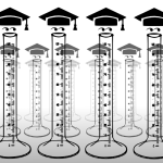 148 of 365 is a graduated cylinder in #inkscape #visualpuns