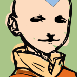 207 of 365 is Jack as the Avatar [illustration] #Inkscape