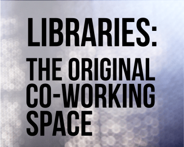Libraries, the original co-working space cc-by lemasney