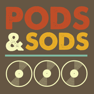 Pods and Sods logo by John LeMasney via lemasney.com