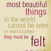 The best and most beautiful things in the world by lemasney