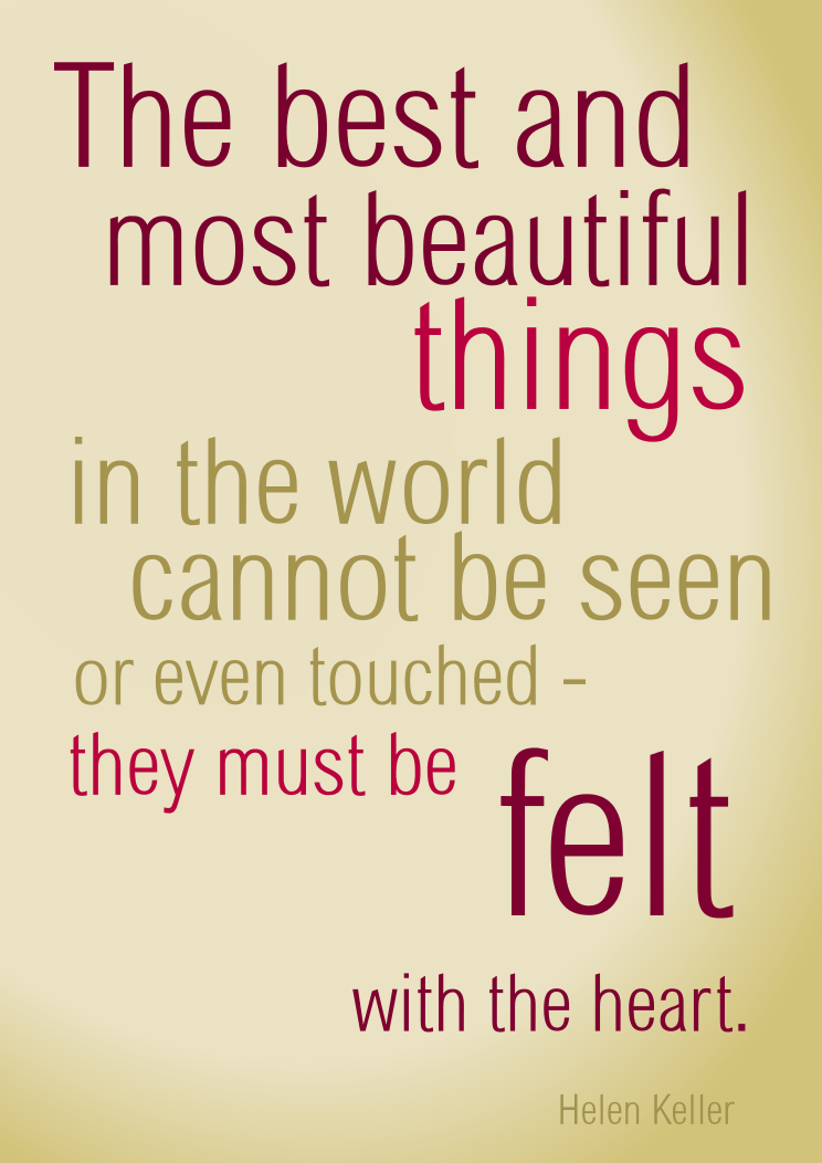 The best and most beautiful things in the world by ...