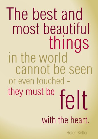 Helen Keller quote by lemasney