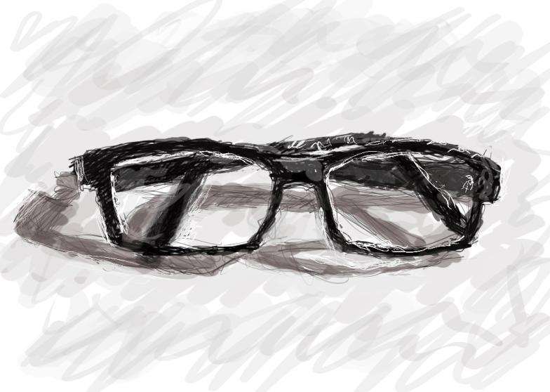 Geek glasses by lemasney
