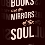 Books are the mirrors of the soul – Virginia Woolf cc-by lemasney
