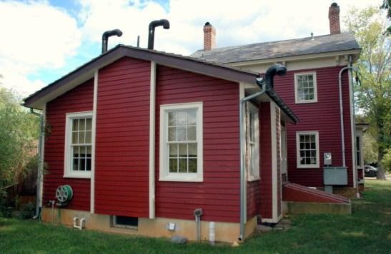 Jedediah Higgins House, Princeton, NJ, Exterior Back, cc-by lemasney