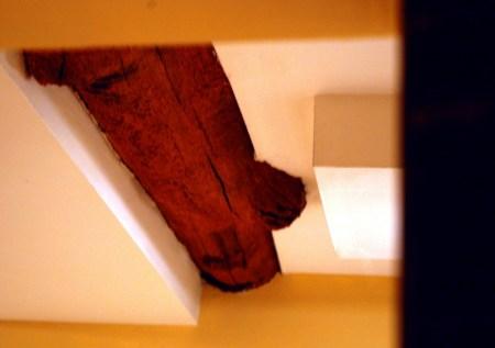 Jedediah Higgins House, Kingston, NJ, Interior, Rooms, details, construction, cc-by lemasney