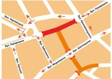 У Львові перекриють перехрестя вулиць Городоцької і Бандери. Як зміняться транспортні маршрути