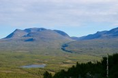 The valley of Abisko