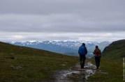 A rainy hike