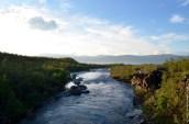 Abiskojokka, the Abisko river