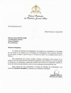 Haïti-Politique: Le Président de la République réitère son appel au dialogue national 1