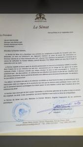 Haïti-Ratification: Carl Murat Cantave demande l'appui de la Police nationale 1