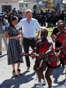 International : Meghan Markle et Harry en voyage officiel en Afrique du Sud 2