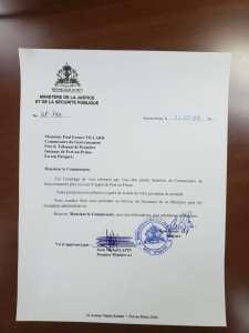 Haïti: Paul Eronce Villard promu Substitut Commissaire du Gouvernement près la Cour d'appel de Port-au-Prince 1