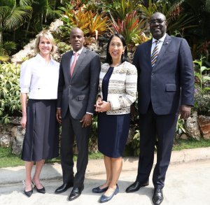 Haïti-Crise: Jovenel Moïse a rencontré la diplomate américaine Kelly Craft 2