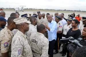 Haïti-PNH : Le Président Jovenel Moïse a rencontré des policiers au Cap-Haïtien ce vendredi 21 février 2020 2